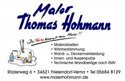 Maler Thomas Hohmann
